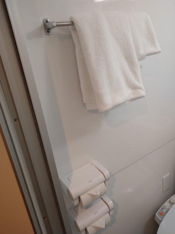 サンライフホテル2・3<博多>の部屋を写真で紹介(バス・トイレその2)