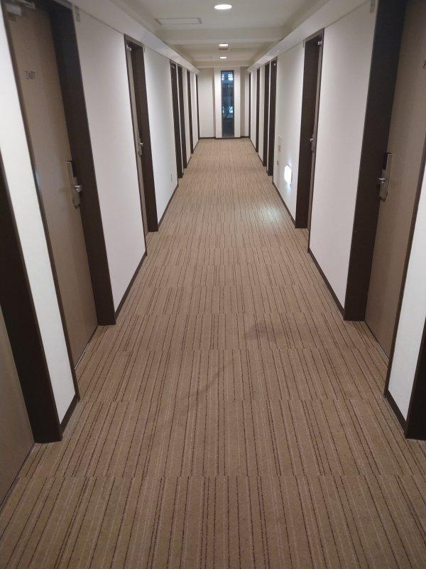 サンライフホテル2・3<博多>の部屋を写真で紹介(廊下)