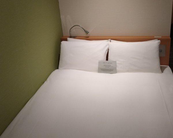ザ・ビー博多の部屋を写真で紹介(ベッド)