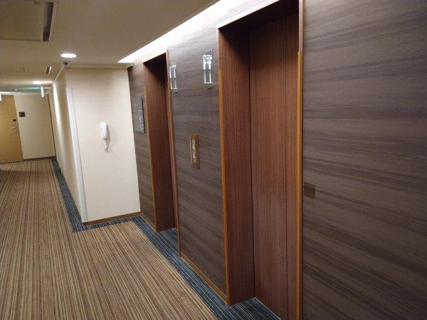 ザ・ビー博多の部屋を写真で紹介(エレベーターホール)