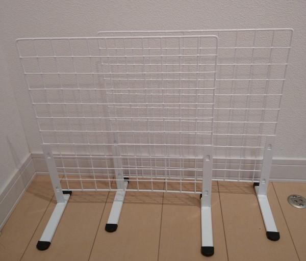 5分で完成するワイヤーラックの組み立て2